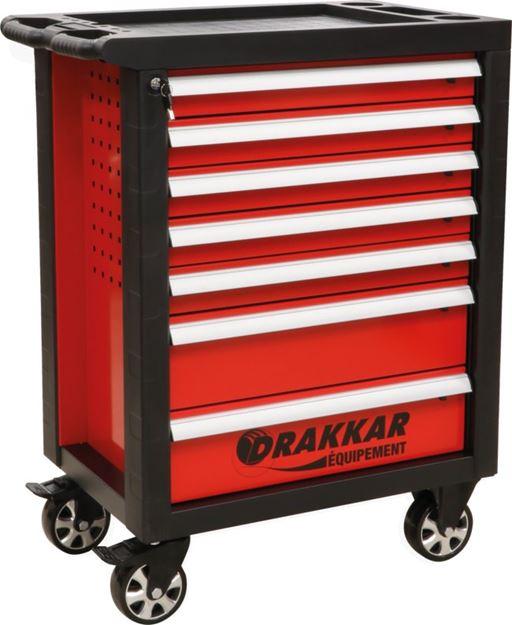 Image sur Servante 7 tiroirs - 198 outils